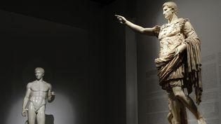 """""""Moi, Auguste, Empereur de Rome"""". exposition à la Gallerie Nationale du Grand Palais, Paris. 19 mars-13 Juillet 2014 .  (FONTENAY/JDD/SIPA )"""