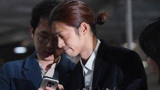 La star de K-pop Jung Joon-young, 21 mars 2019b  (JUNG Yeon-Je / AFP)