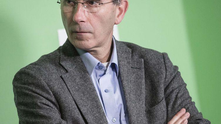 FrançoisVeillerette,directeur et porte-parole de Générations Futures, le 28 avril 2014 à Paris. (? MARLENE AWAAD / MAXPPP)
