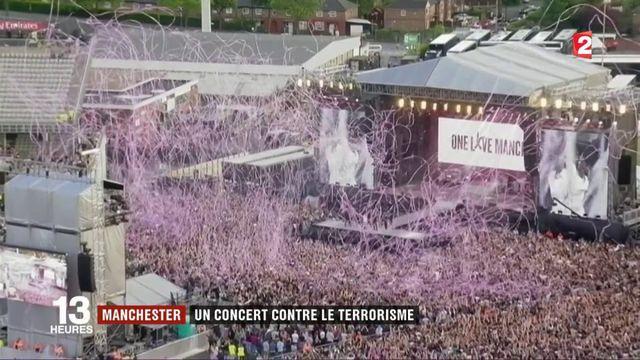 Manchester : un concert contre le terrorisme