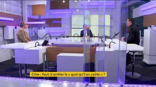 Les débats de l'éco du dimanche 24 janvier 2021. (FRANCEINFO)