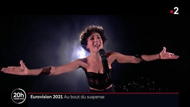 Eurovision : Barbara Pravi porte la France en seconde position
