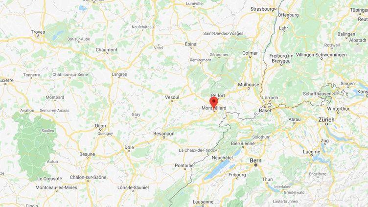 Une femme d'une trentaine d'années a été retrouvée morte dans son appartement à Montbéliard. (GOOGLEMAPS)