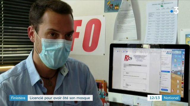 Finistère : un salarié se retrouve licencié après avoir enlevé son masque