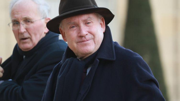 Dominique Bussereau, ancien ministre des Transports et président de l'Assemblée des départements de France, le 11 février 2020, à Paris. (LUDOVIC MARIN / AFP)
