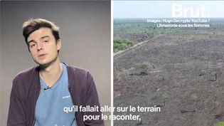 VIDEO. Hugo Travers s'est rendu en Amazonie pour enquêter sur les incendies qui ravagent la forêt brésilienne (BRUT)
