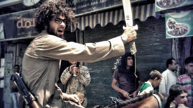 Une photo d'Islam Yaken.L'origine et la date du cliché sont indéterminées, mais il aurait été pris dans le nord de la Syrie. (@AWS_FASFAS / TWITTER)