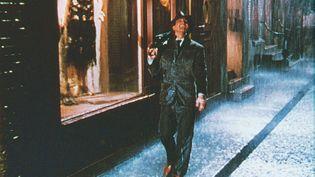 Gene Kelly dansSingin' In The Rain de 1952 (Chantons sous la pluie), un film deStanley Donen (KOBAL / AFP)