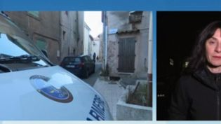 Depuis mercredi 8 janvier, un père de famille retient sa fille, armé d'un fusil de chasse à Esparron-de-Pallières, dans le Var. (FRANCE 3)