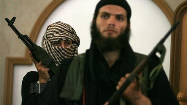 Salafistes en armes à Rafah (© AFP/SAID KHATIB)