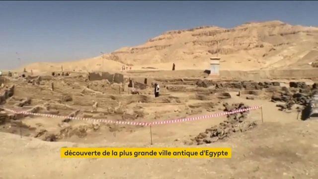 Egypte : découverte de plus grande ville antique du pays près de Louxor