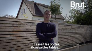 VIDEO. Le témoignage poignant d'un orphelin de féminicide (BRUT)