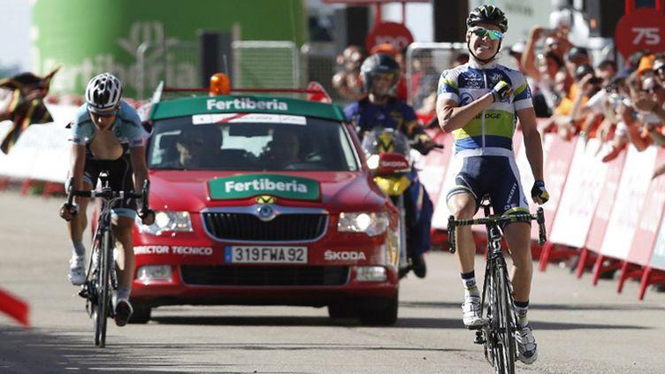 Simon Clarke remporte la 4e étape du Tour d'Espagne (JOSE JORDAN / AFP)