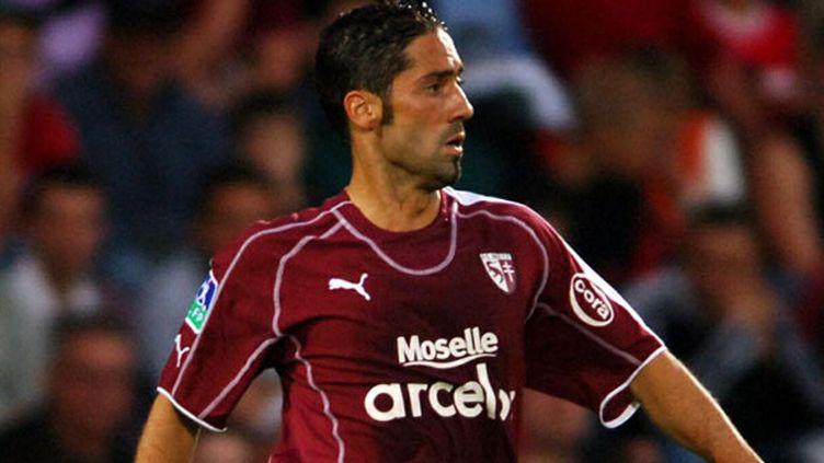 Abdelnasser Ouadah en 2005 quand il évoluait au FC Metz