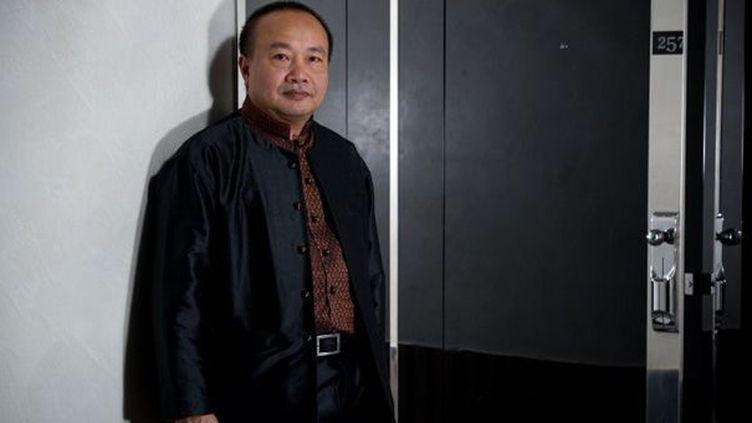 Rithy Panh au festival de Cannes en mai 2010  (Martin Bureau / AFP)