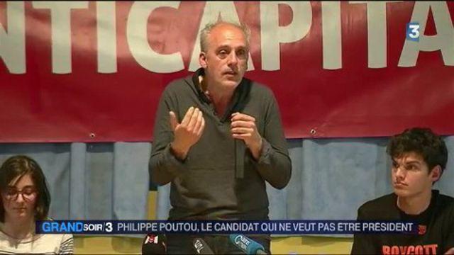 Présidentielle : Philippe Poutou, le candidat qui ne veut pas être président