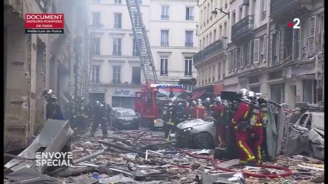 Envoyé spécial. Pourquoi les équipes de GRDF n'étaient-elles pas présentes avec les pompiers rue de Trévise ?