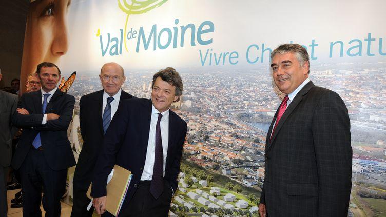 Le député-maire UDI de Cholet, Gilles Bourdouleix, le 23 juin 2011 dans sa ville du Maine-et-Loire. (FRANK PERRY / AFP)