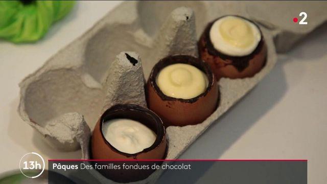 Pâques : la tradition des œufs en chocolat