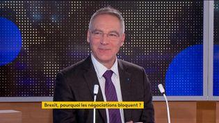 Patrick-Martin Genier, enseignant à Sciences Po et spécialiste de l'Europe, était l'invité de franceinfo. (FRANCEINFO)