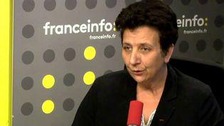 Frédérique Vidal, la ministre de l'Enseignement supérieur, de la recherche et de l'innovation, était l'invité de franceinfo jeudi 5 avril 2018. (FRANCEINFO)