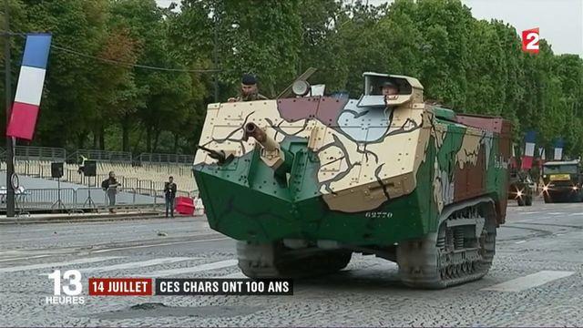 14-Juillet: ces chars ont 100 ans