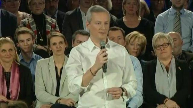Bruno Le Maire se lance dans la course à la primaire de la droite et du centre pour la présidentielle de 2017