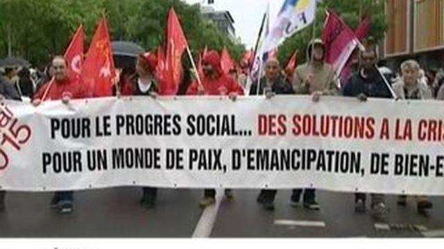 Le 1er-mai syndical : plusieurs milliers de participants en région