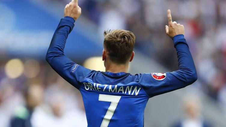 Antoine Griezmann lors du match France-Irlande, le 26 juin 2016 à Lyon. (REUTERS)