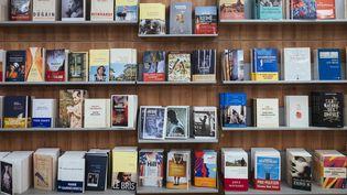 Une librairie à Paris, le 20 septembre 2017. (DENIS MEYER / HANS LUCAS / AFP)