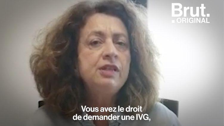 VIDEO. L'appel de la gynécologue Ghana Hatem pour garantir le droit à l'IVG pendant le confinement (BRUT)