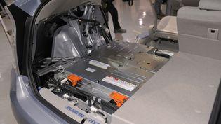 Une batterie de voiture (TOSHIFUMI KITAMURA / AFP)