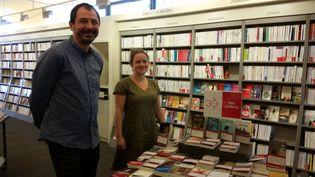 La librairie La Galerne est dans le centre ville du Havre (GREGOIRE LECALOT / RADIO FRANCE)
