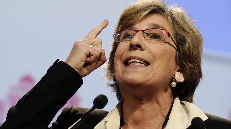Marie-Noëlle Lienemann, sénatrice socialiste de Paris, le 27 octobre 2012 à Toulouse (Haute-Garonne). (LIONEL BONAVENTURE / AFP)