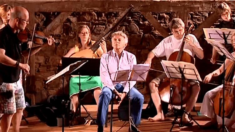 Nelson Montfort et l'Orchestre baroque de Barcelone  (France 3)