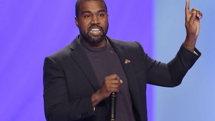 Kanye West en 2019. (MICHAEL WYKE/AP/SIPA / SIPA)