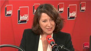 Agnès Buzyn, ministre de la Santé, mardi 27 novembre. (FRANCE INTER / RADIO FRANCE)