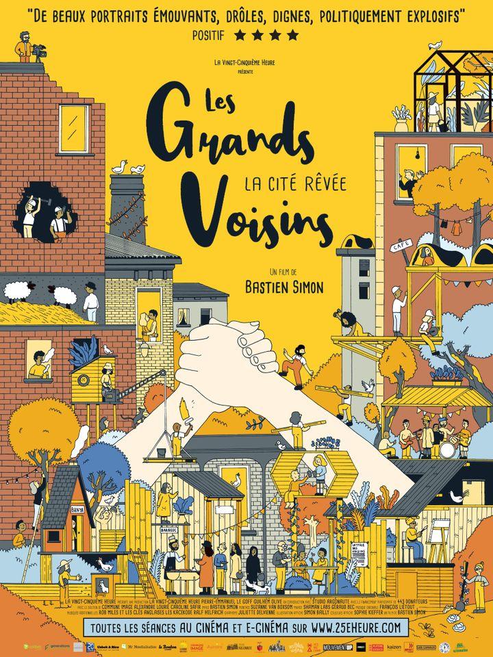 """L'affiche de """"Les Grands Voisins"""" de Bastien Simon. (La 25e Heure)"""