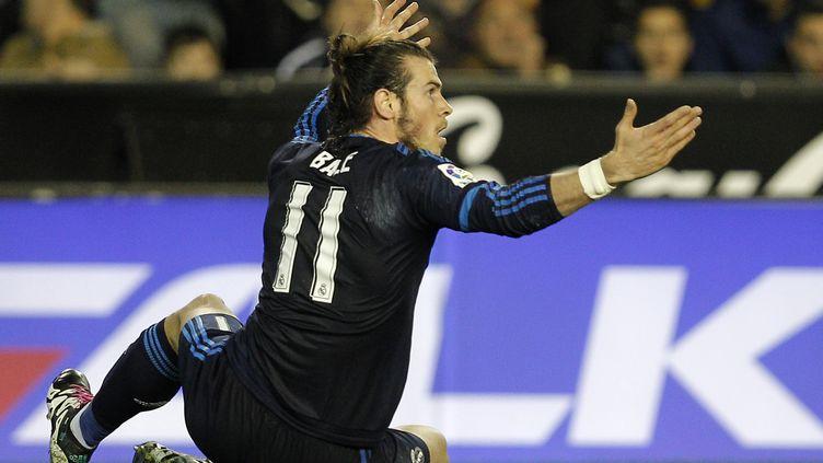 Le Madrilène Gareth Bale (JOSE JORDAN / AFP)