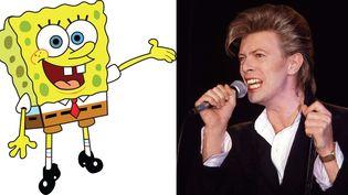 David Bowie (ici en juin 1987) aurait-il un faible pour Bob l'Eponge ?  (Nickelodeon  et Ilpo Musto /Rex/Sipa)