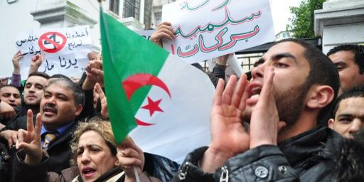 Dès mars 2014, Barakat multipliait les slogans contre la réélection de Bouteflika. (CITIZENSIDE/AHMED KAMAL)