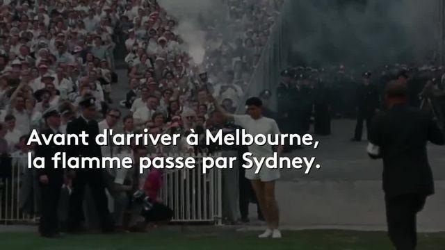 la flamme Olympique: les anecdotes