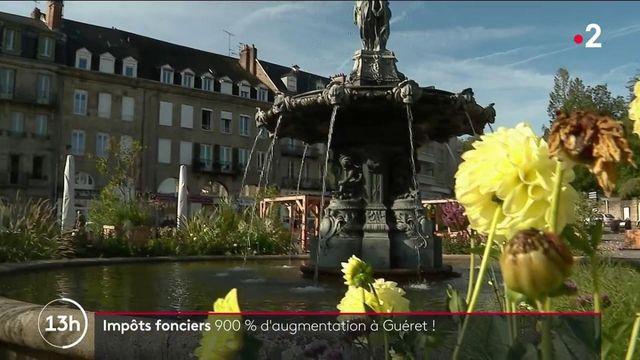 Impôts : à Guéret, la taxe foncière augmente de 900%