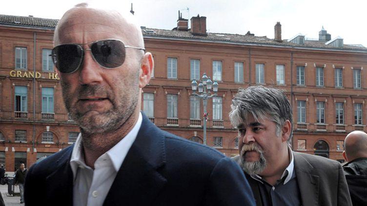 Les dirigeants de Luzenac Fabien Barthez (1er plan) et Jérôme Ducros (XAVIER DE FENOYL / MAXPPP)