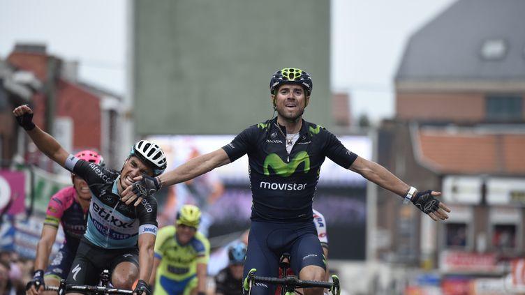 Alejandro Valverde a vécu une semaine de rêve  (ERIC FEFERBERG / AFP)