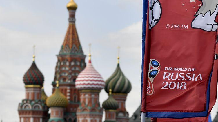 La place Rouge à Moscou (Russie), le 11 juin 2018. (DIRK WAEM / BELGA MAG)