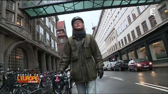 Avenue de l'Europe, le mag. Tobias, futur médecin relax au Danemark