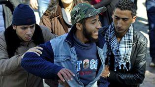 Militant islamiste ayant participé à l'attaque de l'Institut des langues Bourguiba  (FETHI BELAID / AFP)