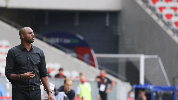Patrick Vieira, ancien entraîneur de Nice, s'est engagé avec Crystal Palace jusqu'en 2024. (VALERY HACHE / AFP)