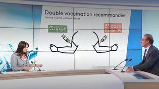 Santé : la campagne de vaccination contre la grippe débute en avance en France (FRANCE 3)